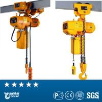 China YT Double Track Electric Hoist Chain Pulley Block/Low Price  Electric Chain hoist wholesale
