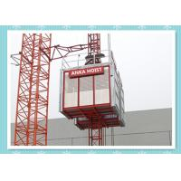 China Passenger / Construction Materials Building Hoist Elevator With Frequency Control System wholesale