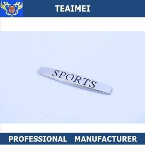 China Volkswagen / BMW Zinc Alloy Self Adhesive Sport Car Fender Emblems wholesale