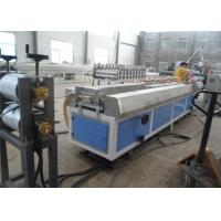 Buy cheap WPC PVC Wood Plastic Profile Making Machine / Plastic Profile Extruder from wholesalers