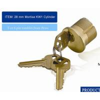 China American KW1 SC1 Series Mortise Cylinder Lock wholesale