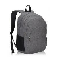 China Grey Polyester Sports School Bags Kids School Backpacks For Boys 13 X 18.5 X 7.5 on sale