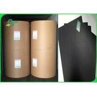China 300gsm 350gsm Good Stiffness And Pull Black Book Binding Board For Photo Frame wholesale
