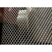 China 2.5X5mm Mill Finish Diamond Aluminum Expanded Metal Mesh Rolls With Color Customized wholesale