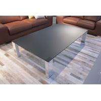 China Dark Grey Table Top Glass Tempered 6 mm Thickness Custom Sizes wholesale