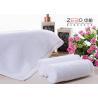 China Fils d'hôtel de ZEBO de visage de serviette de coton 21S/32S/16S blanc jetable de couleur wholesale