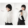 China Women's Rabbit Fur Coats Fur Jacket Japanese & Korean style Z27 White wholesale