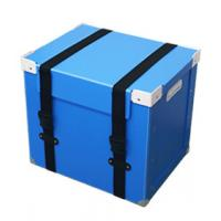 China ISO9001 Plastic Coroplast Box , Customized Collapsible Storage Boxes With Lids wholesale