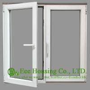 China Tempered Safety Glass Aluminum Casement Windows, Powder Coating Finished wholesale