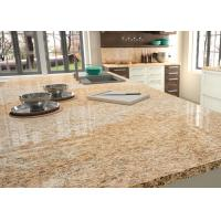 China Prefeb Big Size Natural Granite Countertops Manual Polishing For Villa Home on sale