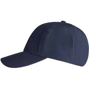 China Melin Waterproof 5 Panel Printed Baseball Hat Perforated Laser Cutting Hole Drilled wholesale