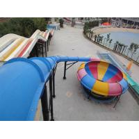 China Water Play Amusement Super Space Bowl Slide For Aqua Park 1 Year Warranty wholesale