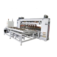 China Automatic electric steel wire welded wire mesh machine for roll fence wholesale