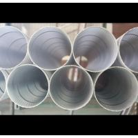 Perforated Stainless Steel Cylinder , Electro Polishing Perforated Baffle Tubing