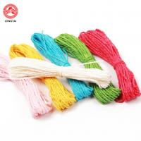 China 1.5mm Diameter 2 Plies Twisted Paper Rope For Decoration And Craft wholesale