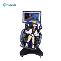 Buy cheap Funin VR New Idea 9D VR Shooting 360 720 VR Chair Flight Virtual Reality from wholesalers