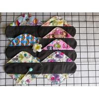 China Organic Bamboo Cloth Menstrual Pads For Lady / Girl / Mum Panty Liners wholesale
