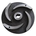 China Pump Parts Casting Ductile Cast Iron Semi-Open Impeller Casting Hardened Sand / Slurry Impeller Pump Vane wholesale