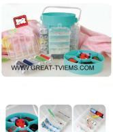 210pcs Deluxe Sewing Kit