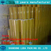 China luda hot sale 30mm strong bopp plastic packing adhesive tape roll wholesale