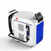 China Paint Removal Laser Cleaning Machine , Laser Metal Cleaner Air Cooling wholesale