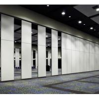 China Aluminium Door Track System Acoustic Partition Wall / Sliding Movable Partition Wall Systems wholesale