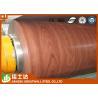 China ASTM,AISI,JIS,GB,CGCC Wooden Color Ppgi Steel Coil Pre-Painted Galvanized Steel Coils wholesale