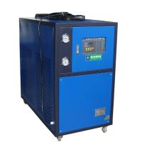 China Blue 5HP Industrial Air Cooled Chiller With Motor Overload Protection Function on sale