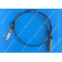 Buy cheap 40Gb/S QSFP28 Direct - Attach Copper Serial Attached SCSI Cable For Switch 2 from wholesalers