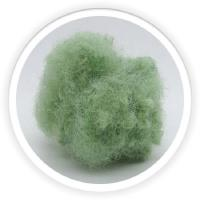China 15D Regenerated Polyester Fiber / Dope Dyed Color Polyester Raw Material wholesale