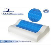 China PU neck support memory foam Cooling Gel Pillow head rest sleeping wholesale