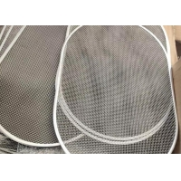 China 50mesh 0.3mm Slot Woven Wire Mesh , Woven Wire Mesh Filter Corrosion Resistance wholesale