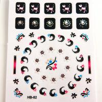 China Animal pattern Nail Art Decals non toxic Printing nail stickers wholesale