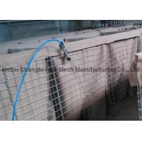 China Stainless Steel Wire Welded Gabion Box HESCO Barrier / HESCO Bastion For Protection Fence wholesale