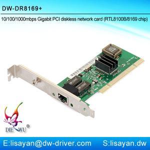 China Good quality Realtek RTL8169 1G Ethernet Lan PCI adapter card wholesale