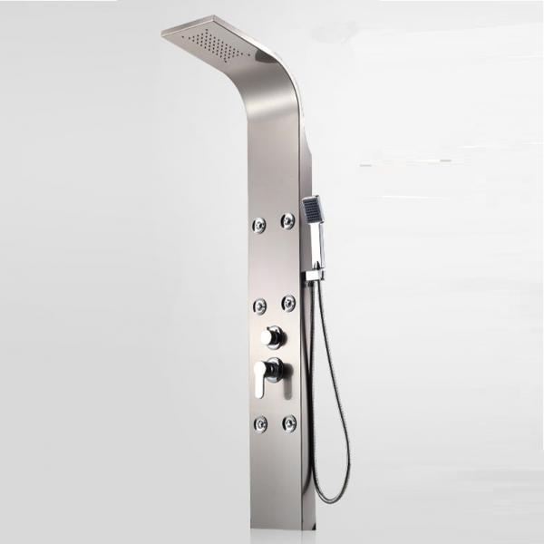 Quality Quality Guarantee Customized Logo Massage Smart Shower Control Panel With Jet for sale