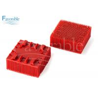 China 130298 703493 Red Nylon Bristle Blocks Suitable For Vector 2500 Cutting Machine wholesale