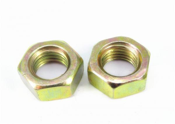 Quality Colorful Zinc Plated Hex Head Nuts Hexagon Thin Nuts DIN 933 For Automobile Industry for sale
