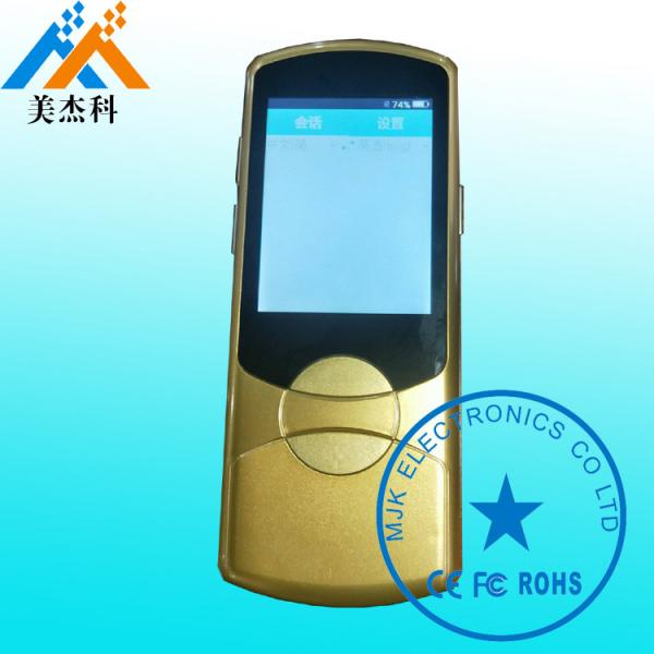 Quality 41 Languages Intelligent Voice Translator 2.4'' TFT Display AI Voice Recognition For Talk for sale