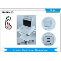 China Human Use 12 Inch Laptop black and white ultrasound machine with 2 Probe Connector wholesale