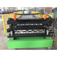 High Efficiency Guardrail Roll Forming Machine 1.0 Inch Single Chain Dirve