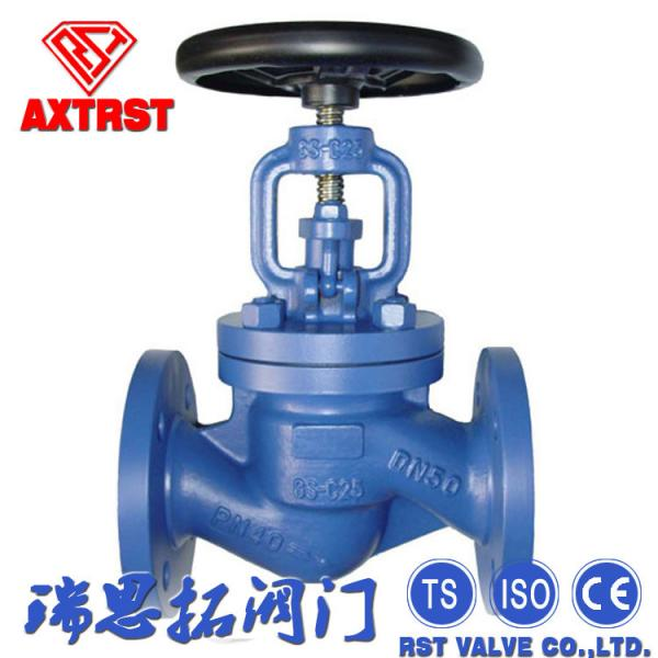 "Quality 1-1/2""-36"" Cast Steel Globe Valve Stainless Steel DIN 3202 Flanged End for sale"