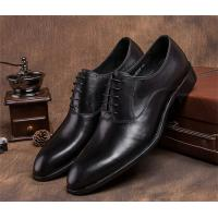 China Pointed Plain Toe Mens Classic Dress Shoes For Four Seasons EU 37-44 Size Range wholesale