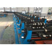 China Heavy Duty Metal Roll Forming MachineSpot Welding 70mm Roller Axis For Shelving wholesale
