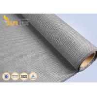 China 1.5 Mm Thickness Boiler Insulation High Temp Fiberglass Fireproof Coated With Calcium Silicate wholesale