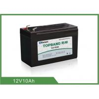 China Type prismatique 12 V 10Ah de cycle de lithium de fer de batterie profonde de phosphate wholesale