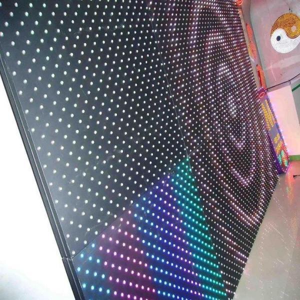 Quality Le pixel DC24V d'affichage matriciel Imperméabilisent l'écran mené extérieur de lumière de point de RVB LED for sale
