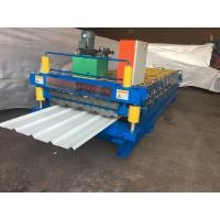 China Color Steel Corrugated Iron Roller Machine13 Rows For Roof / Wall Panel wholesale