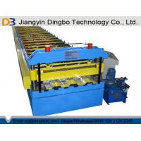China 2 Years Warranty Floor Deck Roll Forming Machine For Building Material on sale