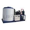 China Anuncio publicitario 1750*1550*1610m m de la máquina de hielo de la escama del agua de mar de la refrigeración por agua wholesale